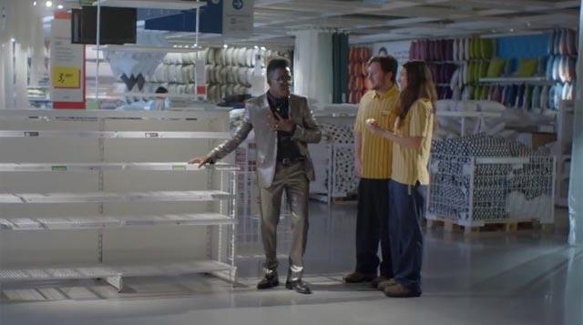 Ebony Voice se despide en el Ikea