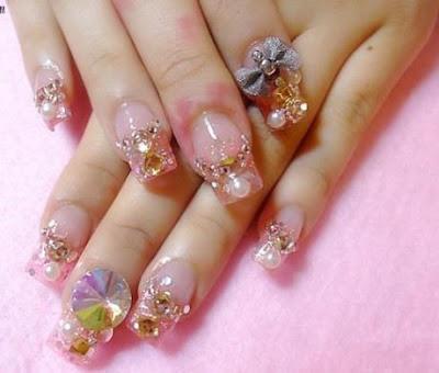 classic nail art style 2013 women fas