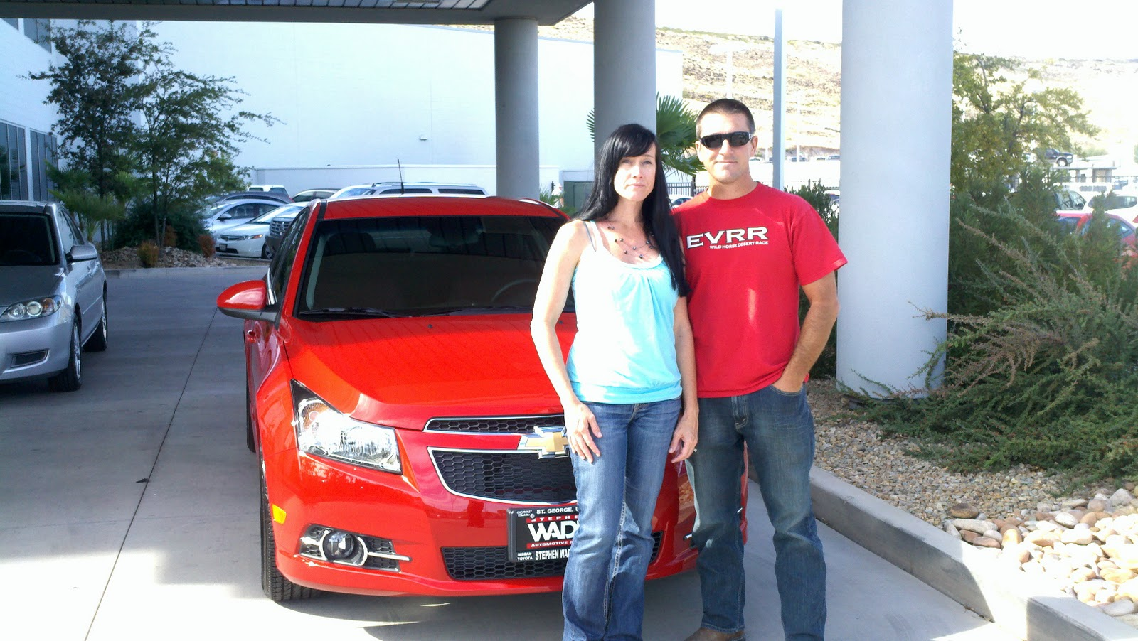 Stephen Wade Delivery Lane: Jason and Kristine from ...