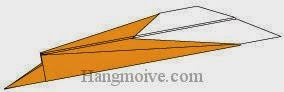 Bước 8: Hoàn thành cách xếp máy bay Mig-35 bằng giấy theo phong cách origami