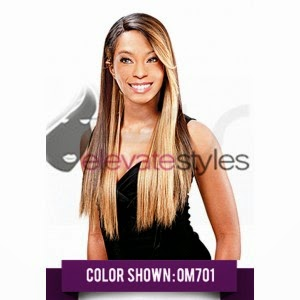 Model Model Synthetic Deep Invisible L Part Lace Front Wig Muze
