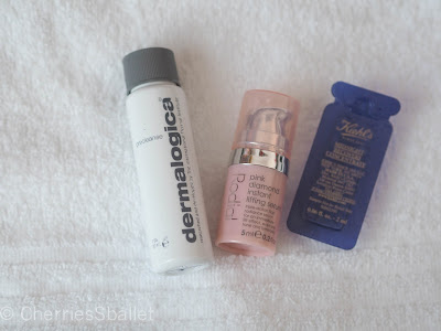 dermalogica precleanse, Rodial Pink Diamond Instant Lifting Serum, Kiehl's Midnight Recovery Concentrate
