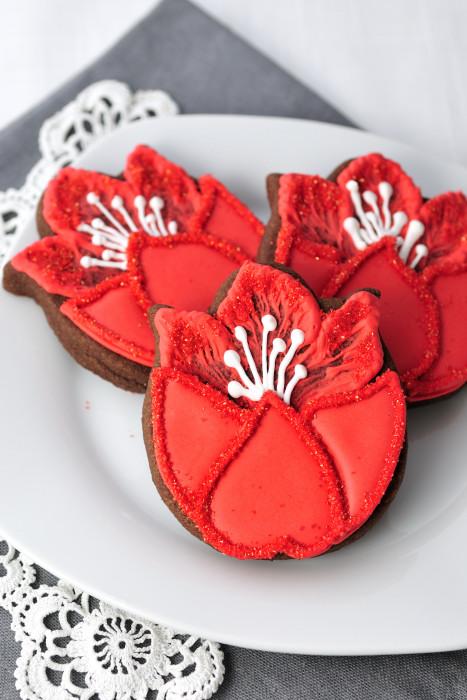 CancunCOOKIES: tulip cookie tutorial by haniela