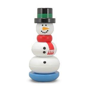 Pre-kindergarten toys - Melissa & Doug Snowman Stacker