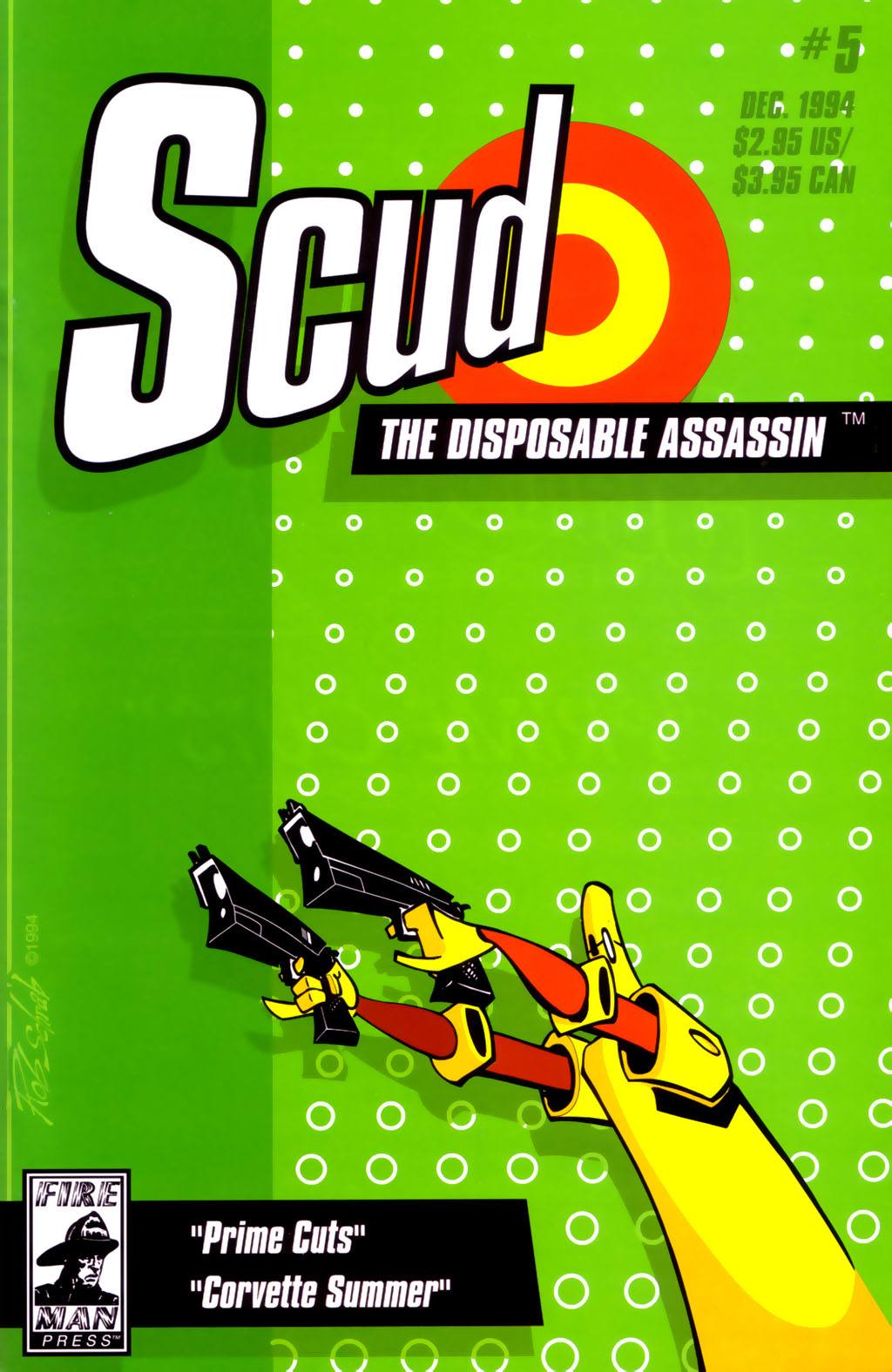 Read online Scud: The Disposable Assassin (1994) comic -  Issue #5 - 1