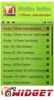 widget radio streaming, Radio Rodja, radio Assunah, ceramah / kajian agama islam dari berbagai chanel