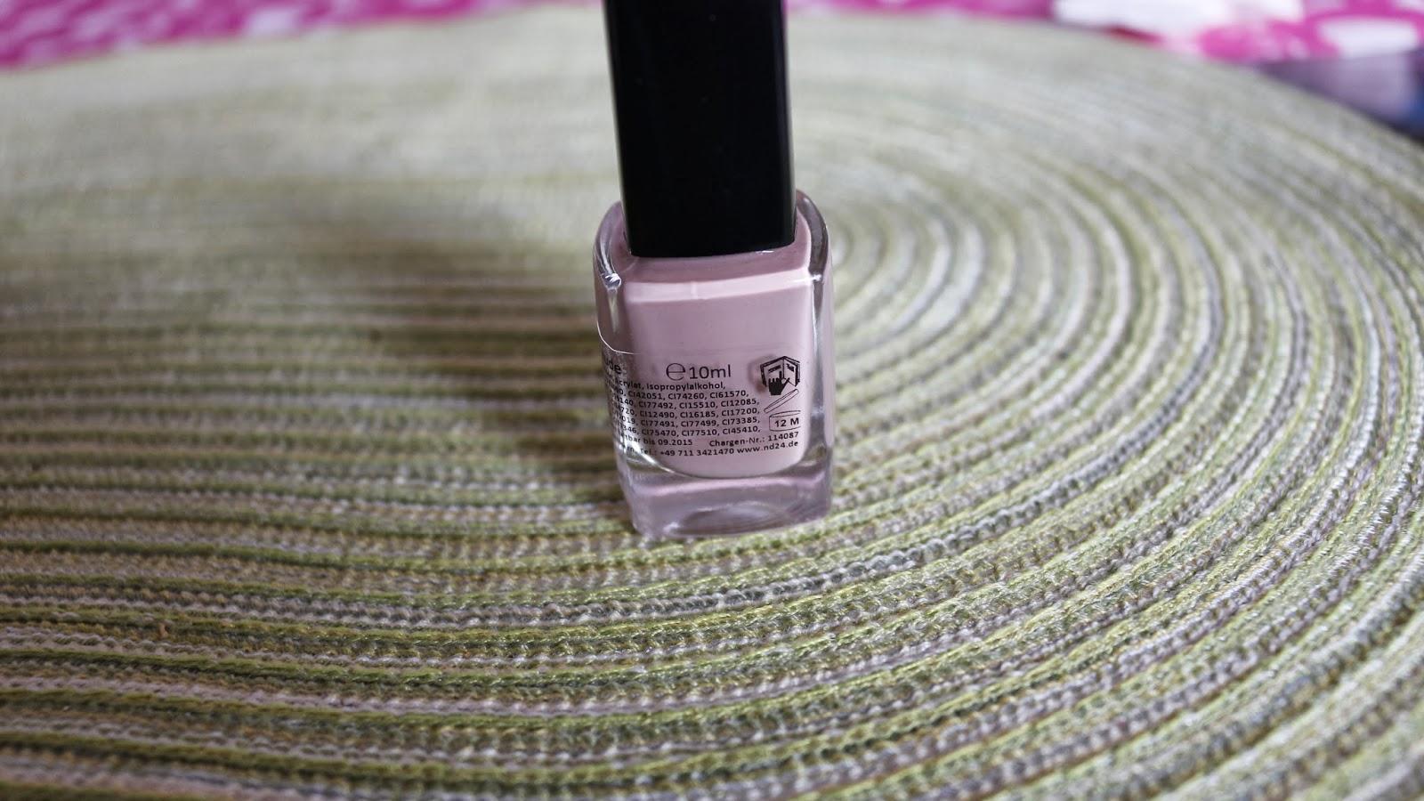 24 karat pink neuer nagellack von. Black Bedroom Furniture Sets. Home Design Ideas