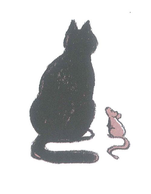 D 39 une berge l 39 autre histoire du chat et de la souris qui devinrent - L histoire de la souris ...