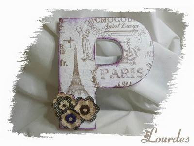 Letras decoradas - Letras decoradas scrap ...