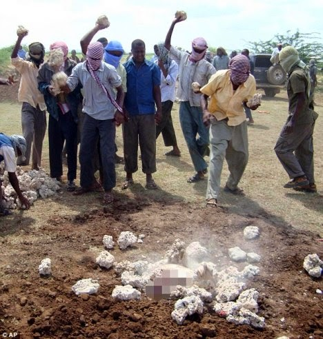 death Muslim woman stoned