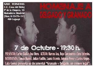Homenaje a Francisco Granado y Joaquín Delgado en Madrid