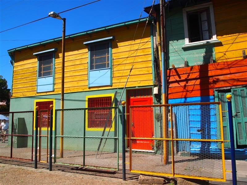 Casa pintada - La Boca