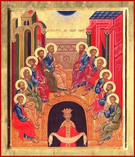 Duminică, 7 mai - Pogorârea Spiritului Sfânt (Rusaliile)