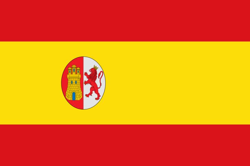 Bandera de la I República española (1873-1874)