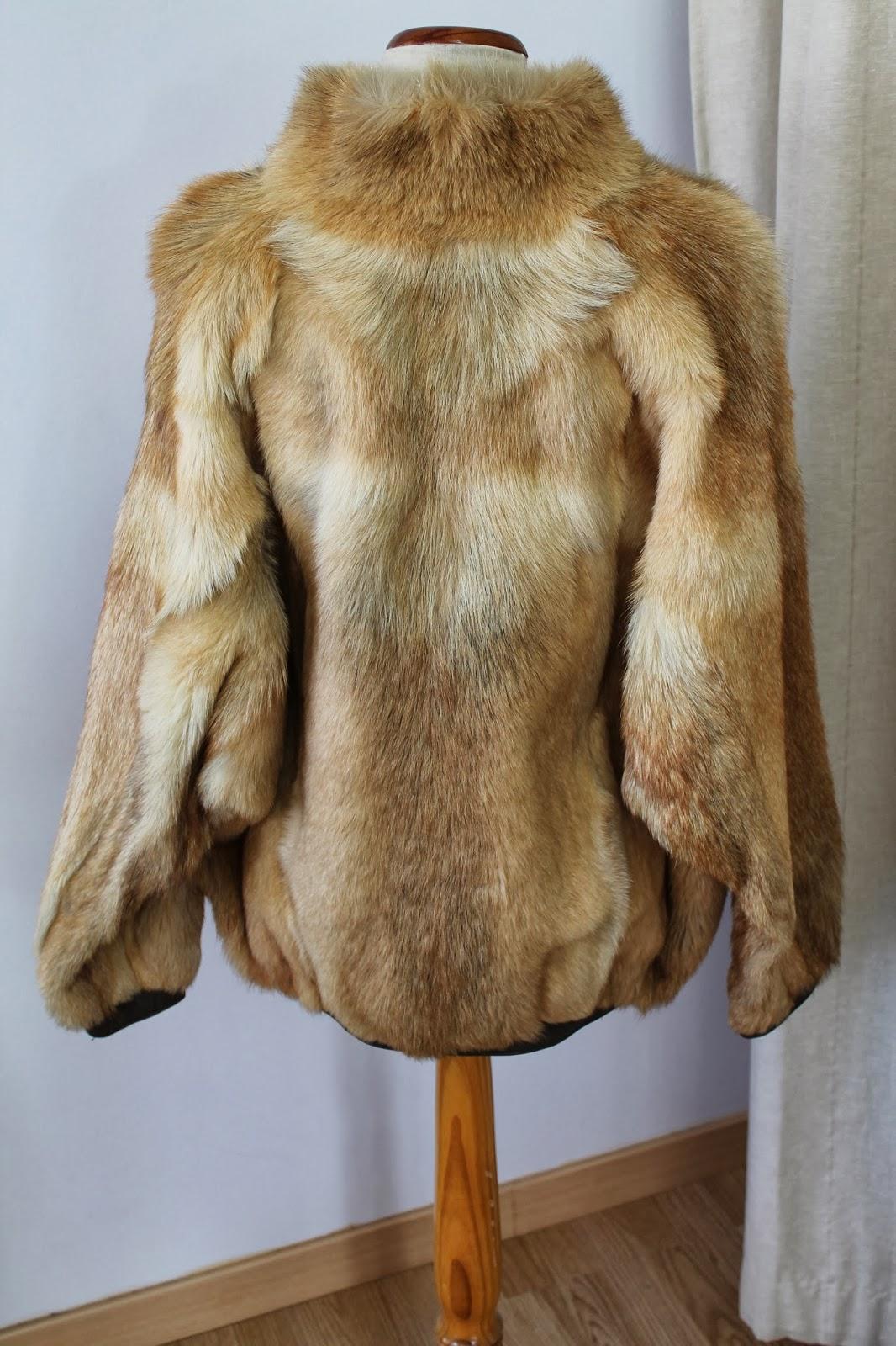 Abrigo piel barato