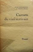 Carnets du Vieil Ecrivain