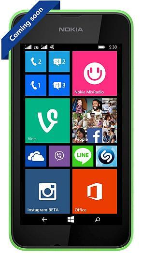 Nokia Lumia 530 Dual SIM with Windows Phone 8.1 Just Rs. 7,199