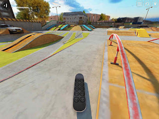 Screenshots of the Touchgrind skate 2 for Android tablet, phone.