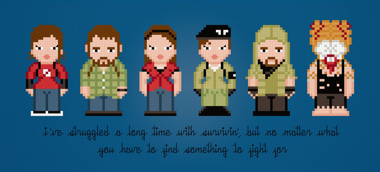 The Last of Us - Cross Stitch PDF Pattern Download