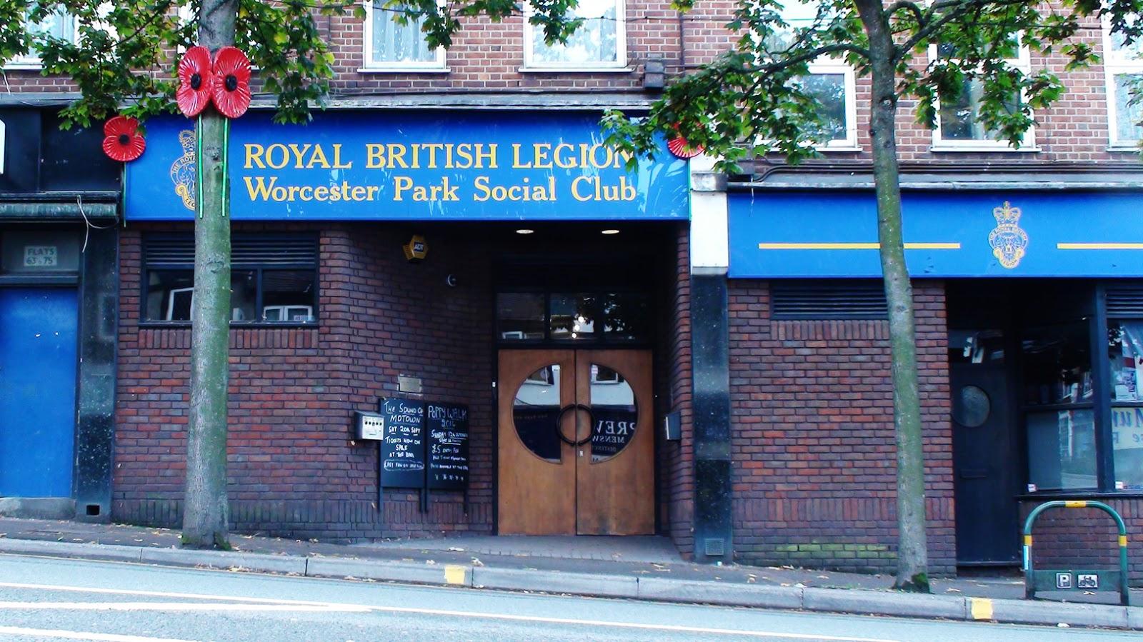 Image result for worcester park british legion