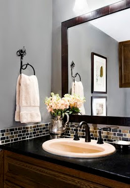 Quick Fix Soapstone Bathroom