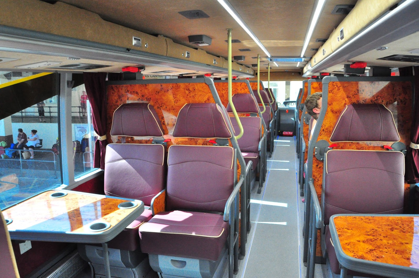 Public Transport Of The Plymouth Area: A mega Megabus ...