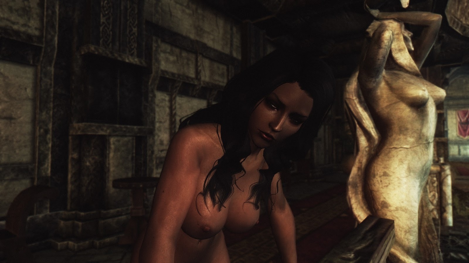 Skyrim nude models naked streaming