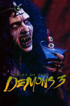 Poster Of Night of the Demons 3 1997 Full Movie Download 300MB In Hindi English Dual Audio Compressed Small Size Pc Movie