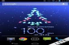Cuenta atrás para Navidad: wallpaper animado 3d de navidad con cuenta regresiva para Android