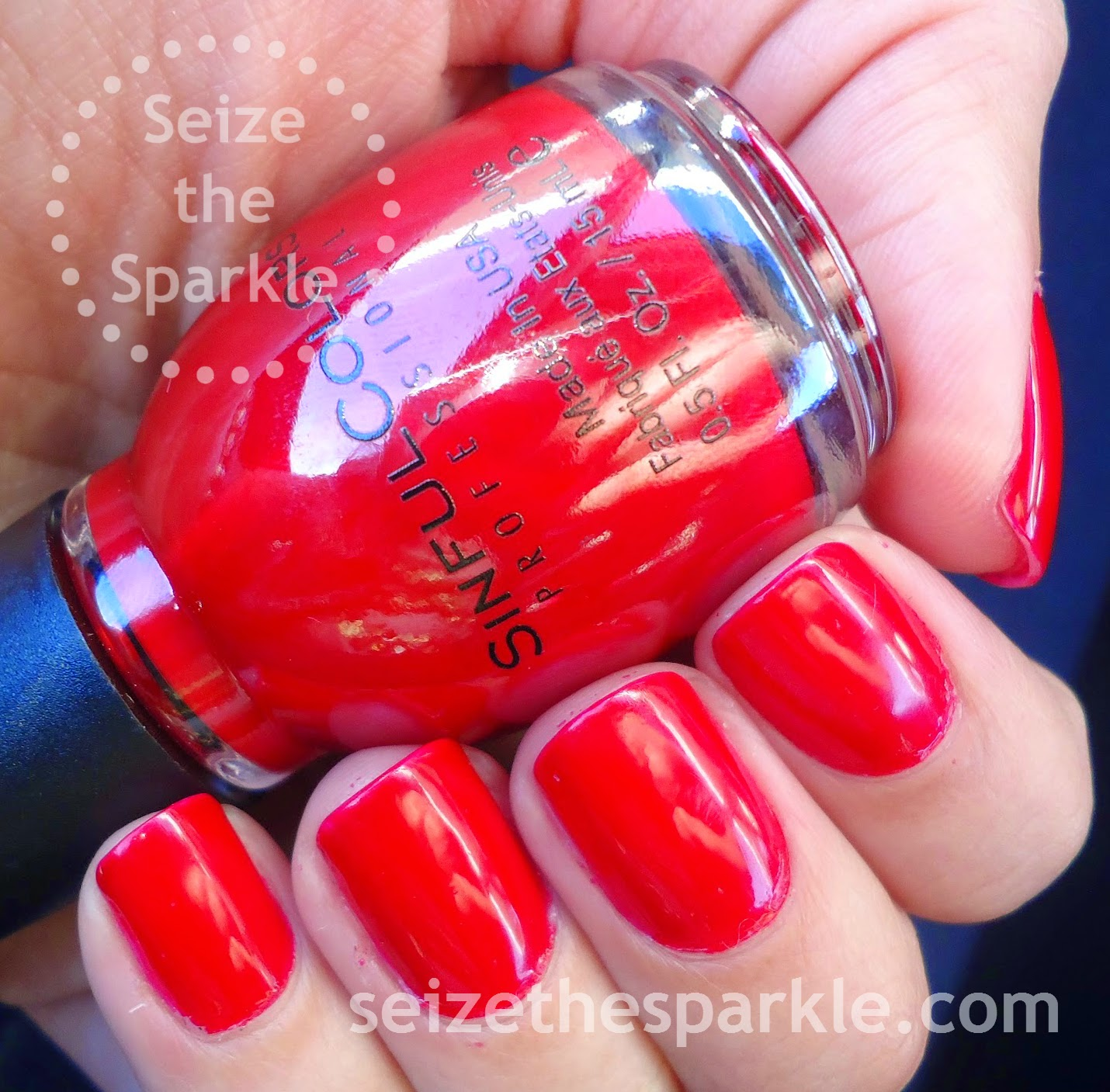 SinfulColors GoGo Girl Red