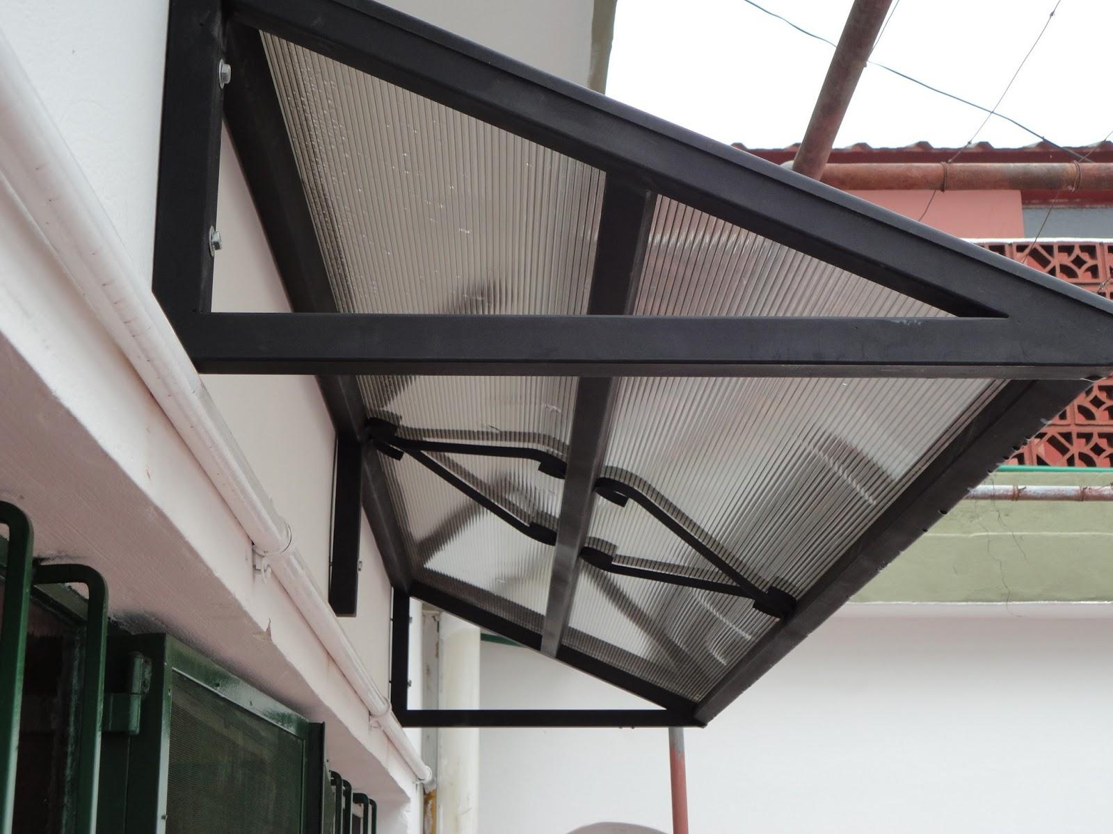 Herreria artistica gabriel m paz techos curvos y rectos for Accesorios para toldos de balcon