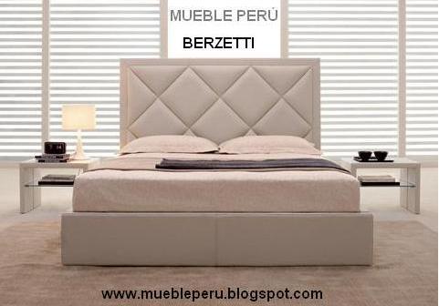 mueble peru camas y recamaras tapizadas muy modernas