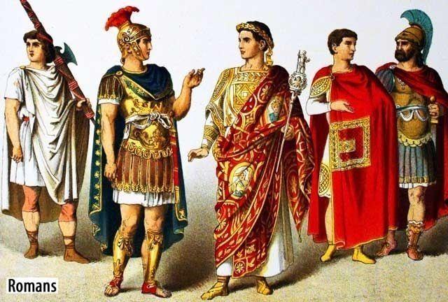 Shade Of Coral: Ancient Roman Clothing - photo #25