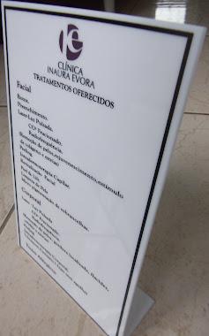 PLACAS INFORMAÇÃO  EM ACRÍLICO SILKADA CLINICA INAURA SÃO JOSÉ DOS CAMPOS-SP
