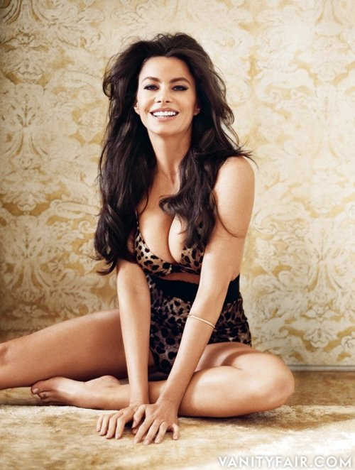 Sofia Vergara For Vanity Fair Magazine !