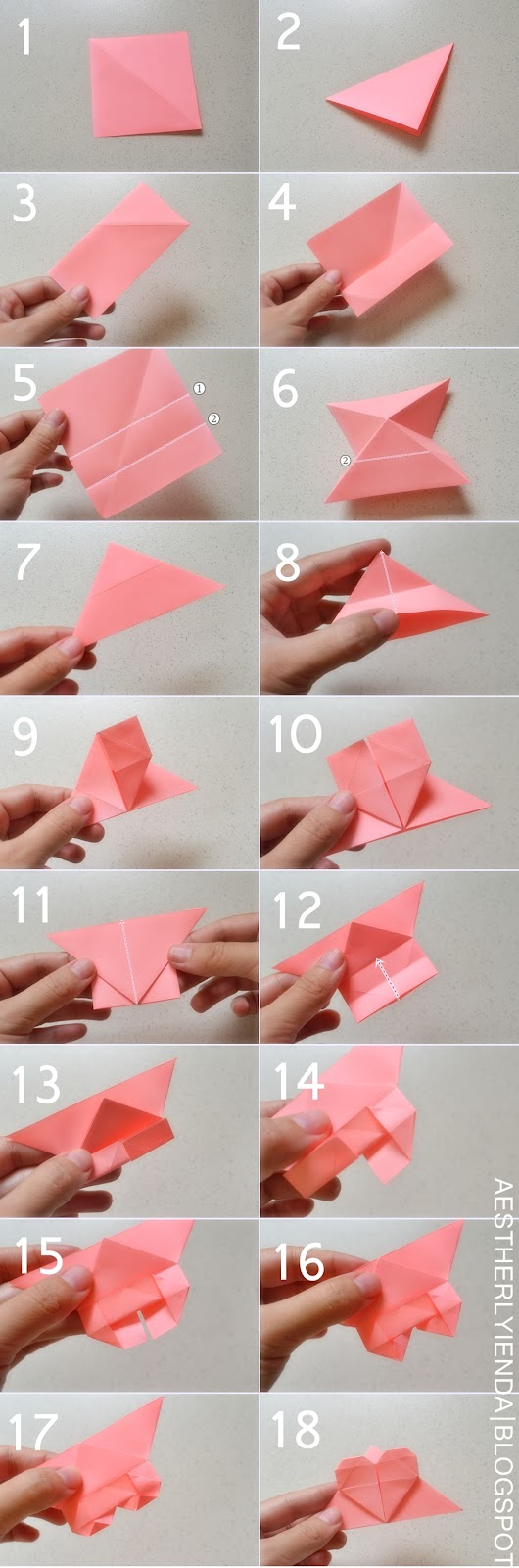 heart-shaped bookmark | aestherlyienda