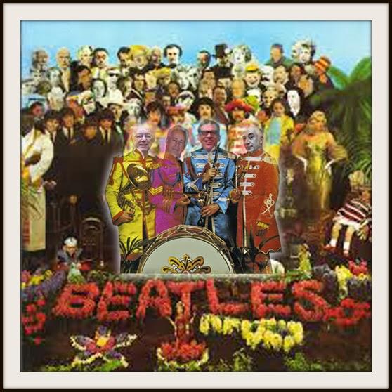 Gran banda la que formábamos Pepe, Alfredo, Fernando y yo ... Gracias Lois y Clark