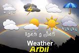 حالة الطقس في أربيل