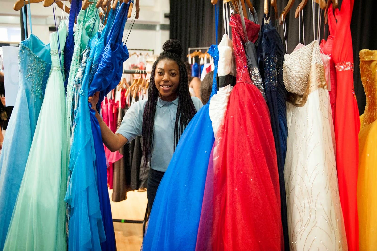 frumpy to funky: David\'s Bridal Donates 150 Prom Dresses to ...