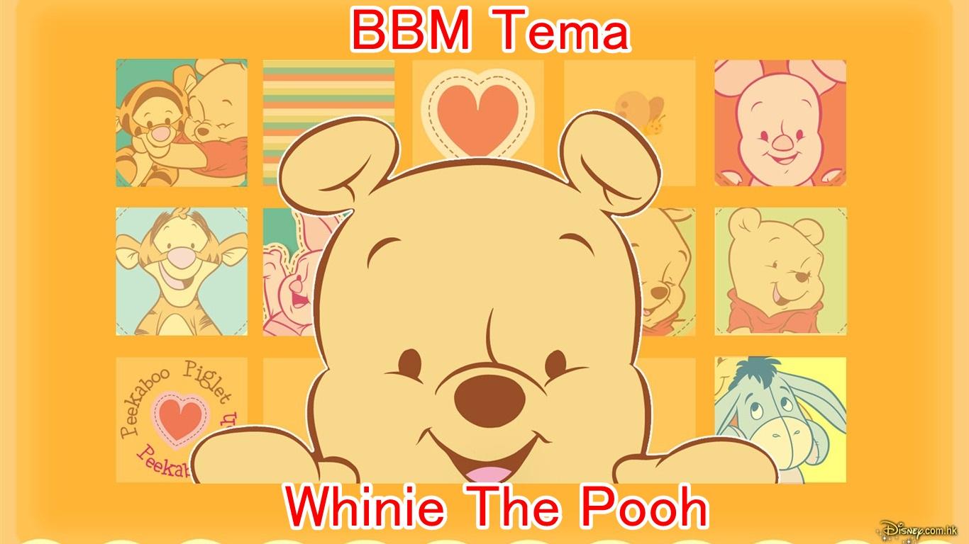BBM Tema Whinie The Pooh