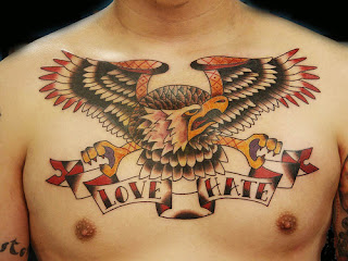 chest tattoos, tattooing