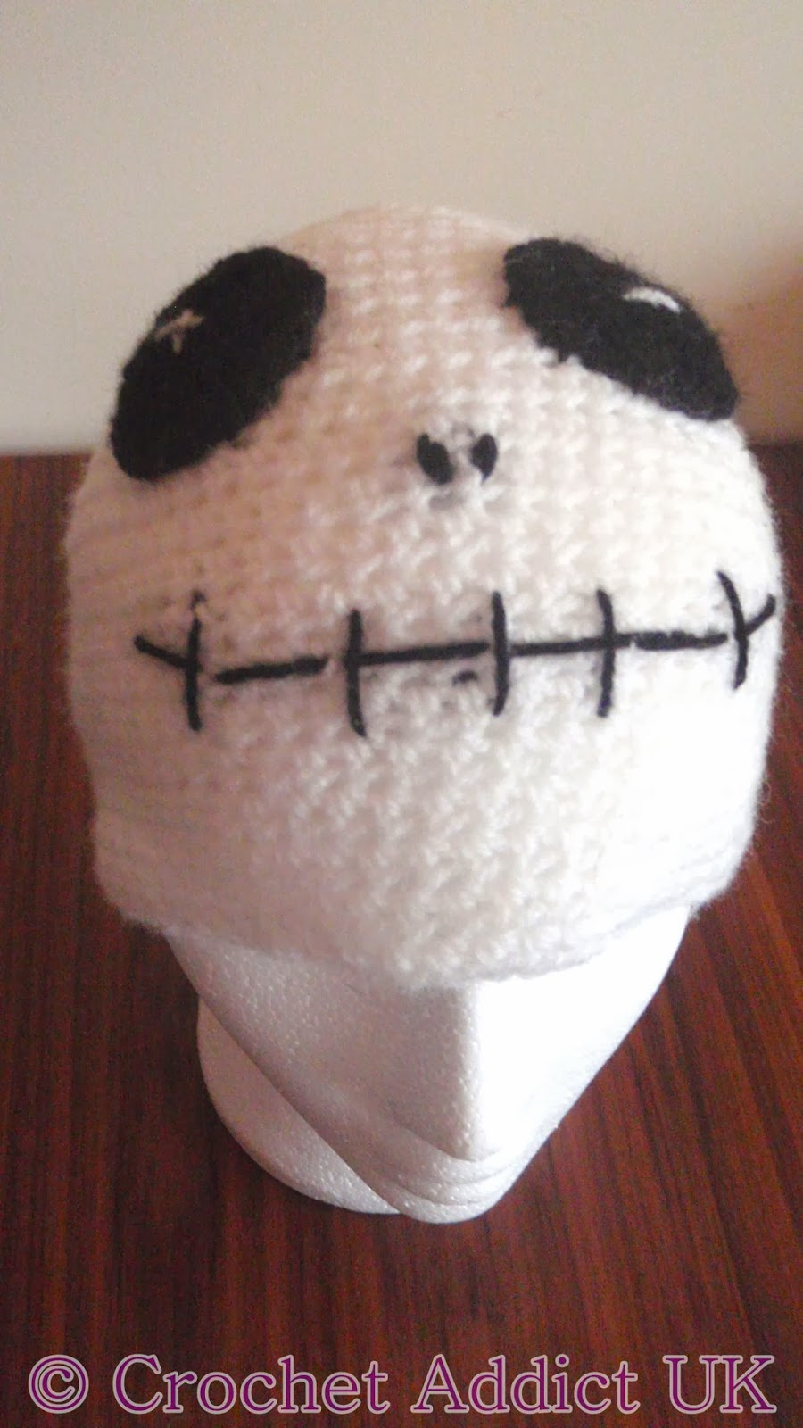 Free Skeleton Beanie Hat Pattern ~ Crochet Addict UK