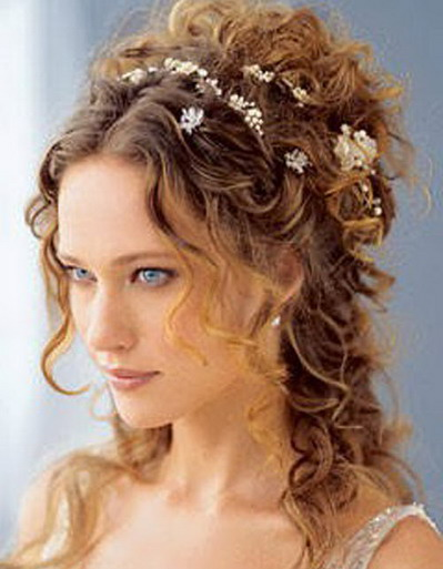 Rich Curly Prom Hairstyles 2013