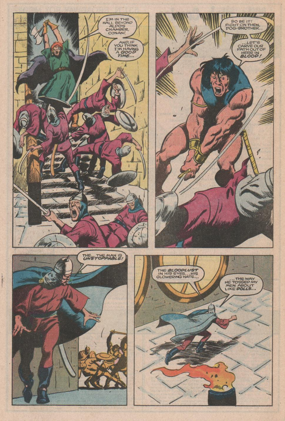 Conan the Barbarian (1970) Issue #174 #186 - English 19