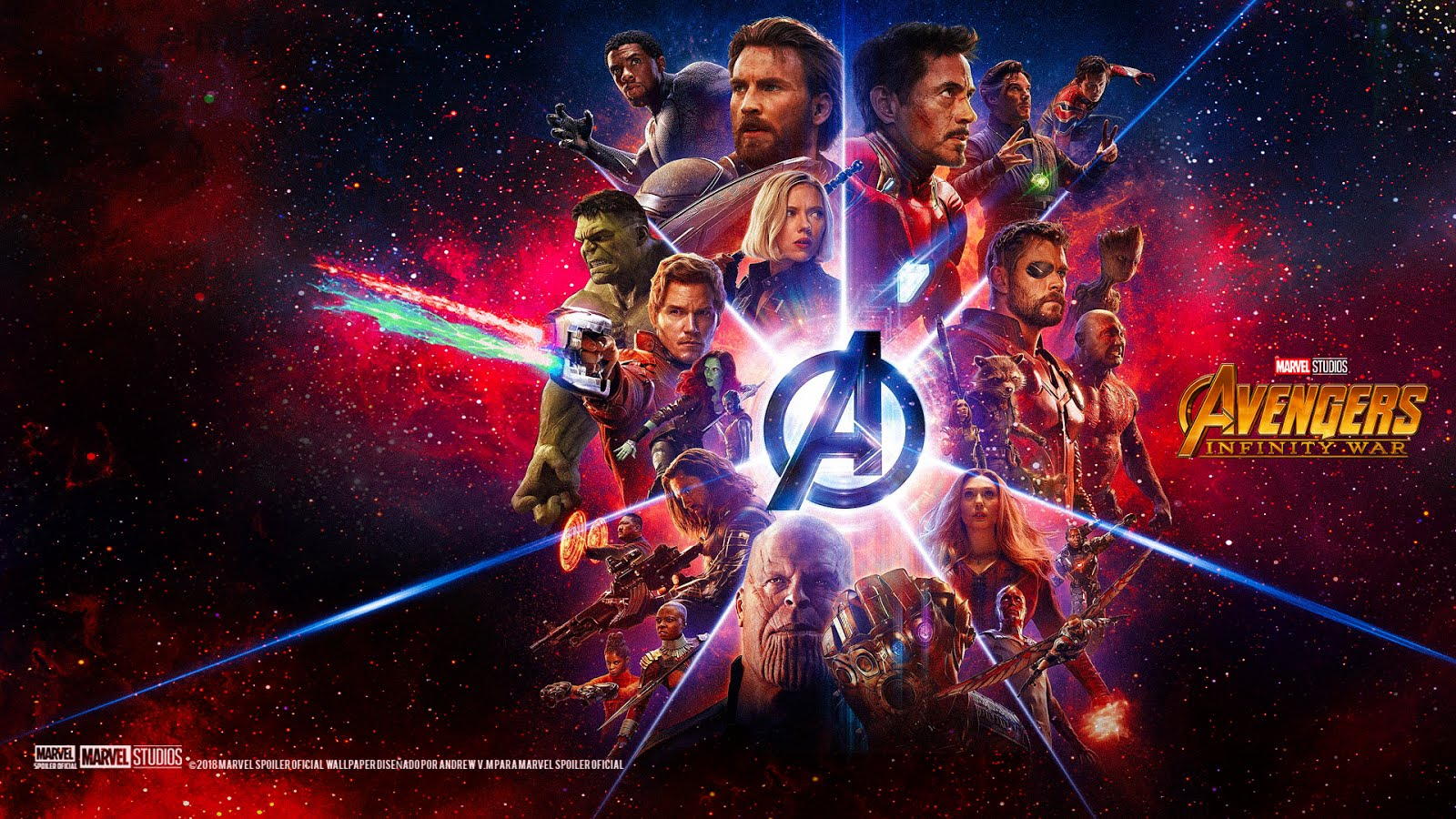 AVENGERS INFINITY WAR Wallpaper IMAX HD