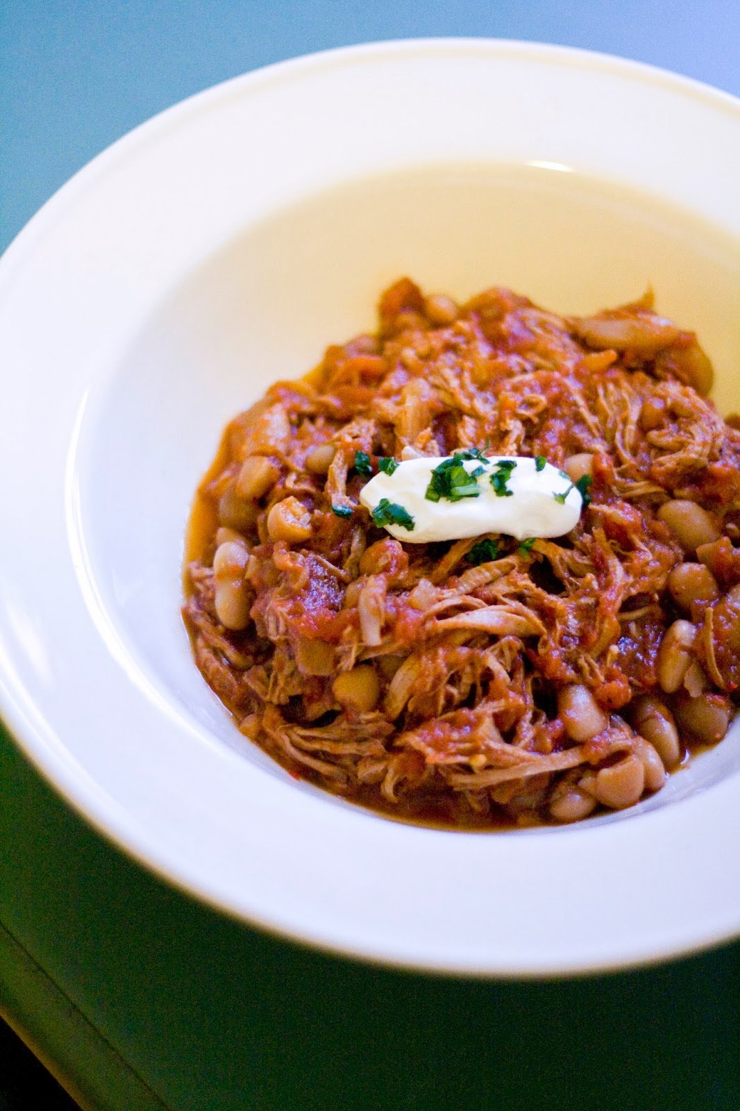 ... Street Eats: Chef Jeremy: Spicy Slow Cooker Chili with Pork and Coffee