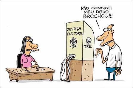 Resultado de imagem para eleições no brasil charges