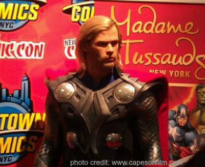 New York Comic Con, Thor, Chris Hemsworth, Capes on Film, superheroes