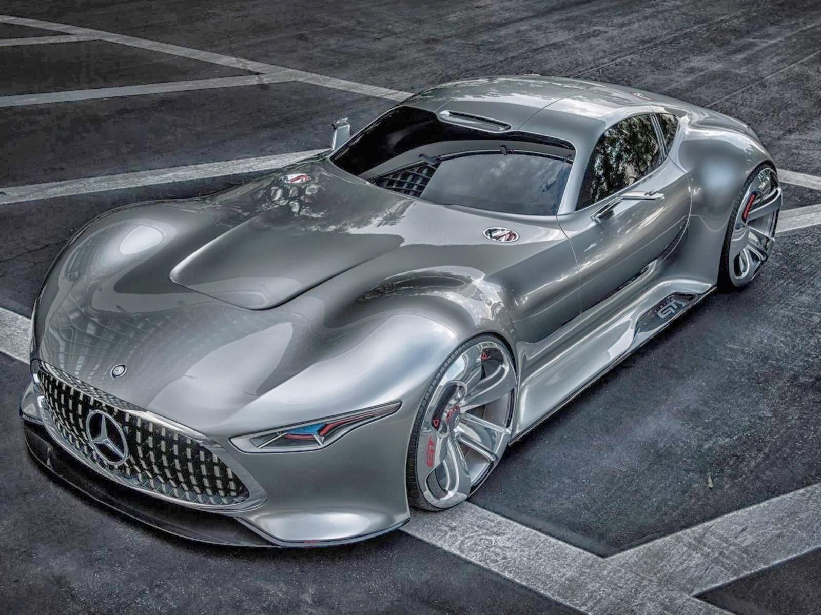Mercedes benz vision gt conceitual estar no gt6 car for Mercedes benz vision