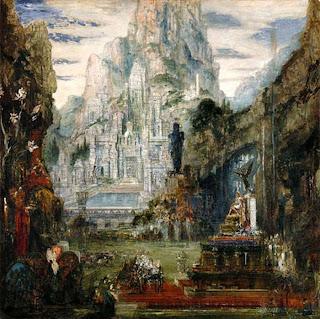 El triunfo de Alejandro Magno - Gustave Moreau